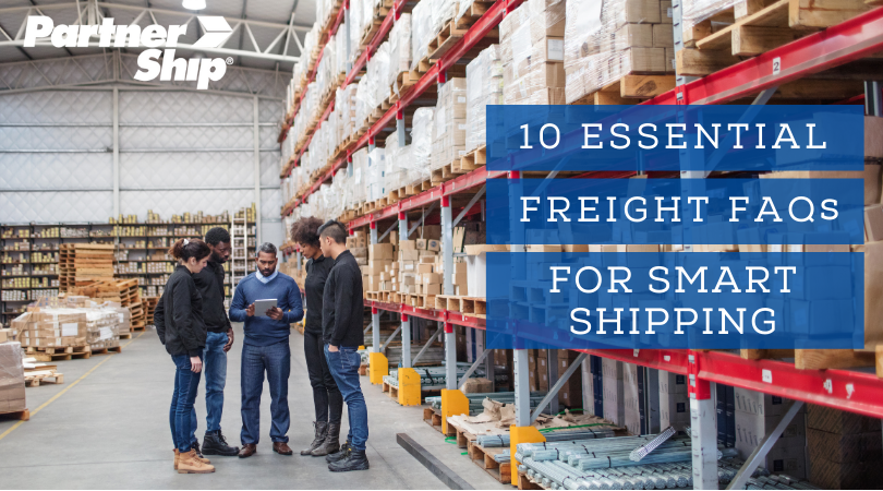 ALT 10 Essential Freight FAQs