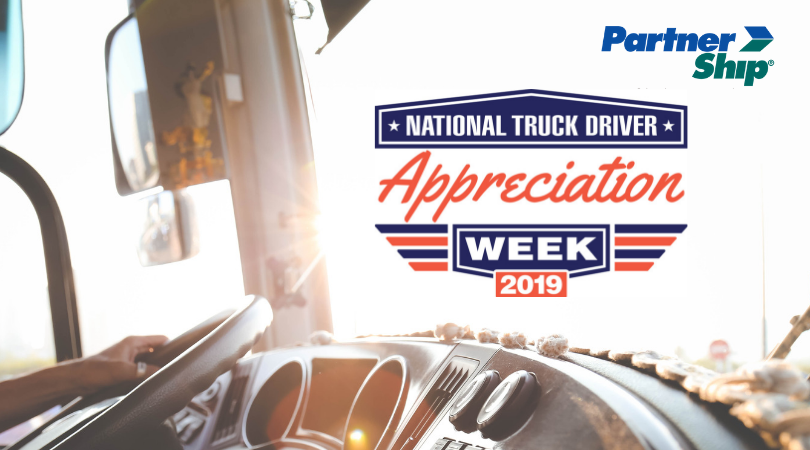 2019 Truck Driver Driver Appreciation Week