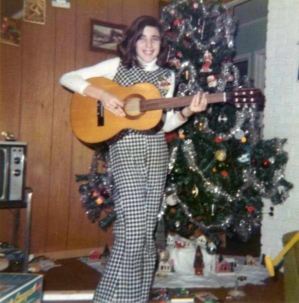 Barbara with guitar