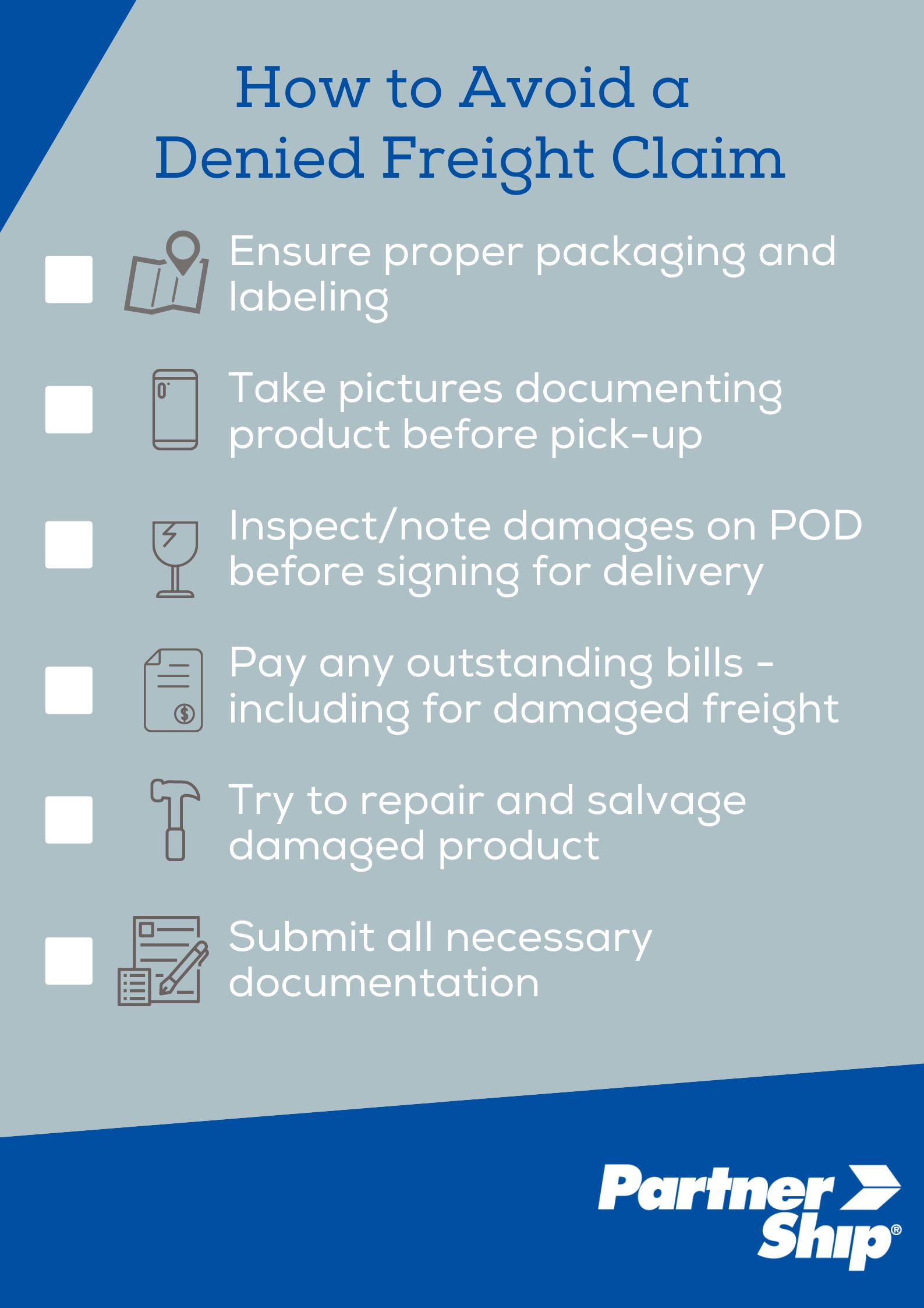 Claims Checklist