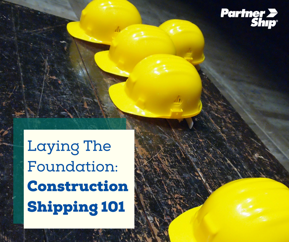 Construction Shipping 101