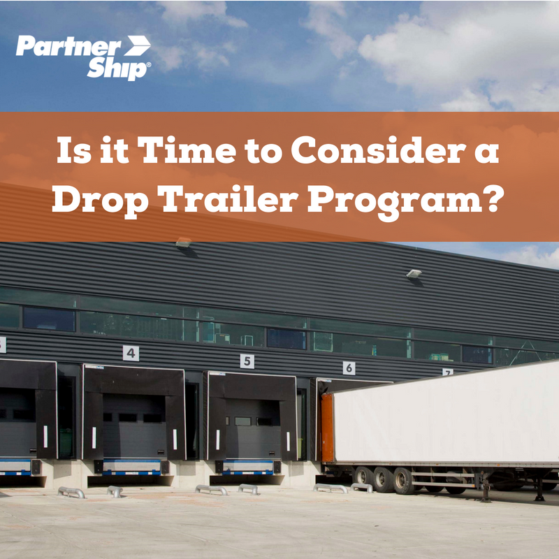 Is it Time to Consider a Drop Trailer Program?