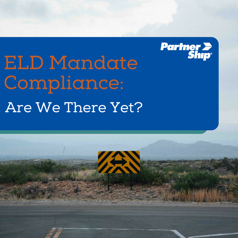 ELD Mandate Compliance: Are We There Yet