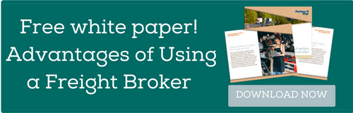 Free white paper! The Advantages of Using a Freight Broker