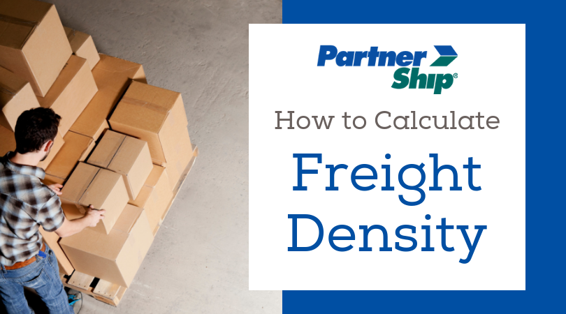How to calculate freight density