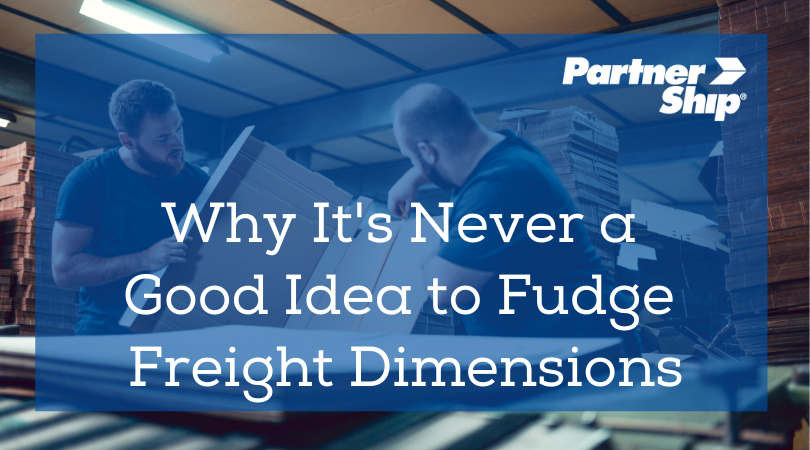 Fudging Freight Dimensions Blog Image