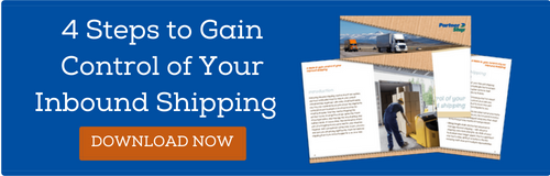 Download the free white paper: 4 Steps to Gain Control of Your Inbound Shipping