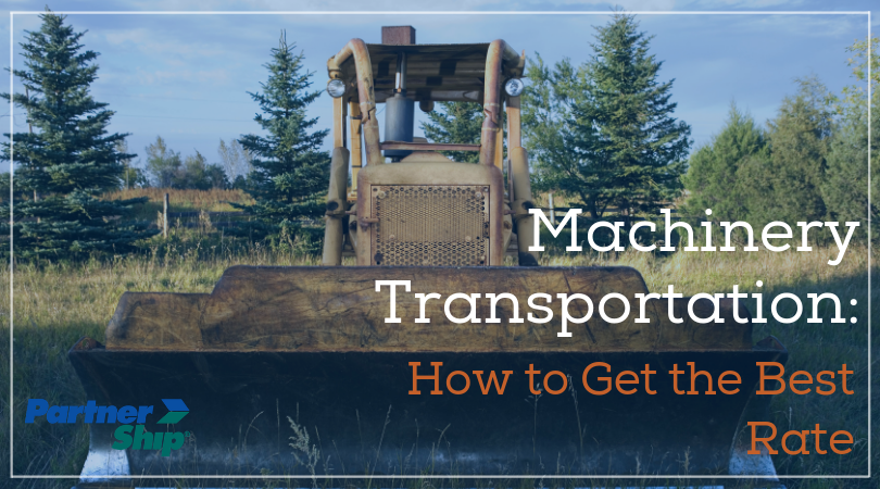 Machinery Transportation: How to Get the Best Rate