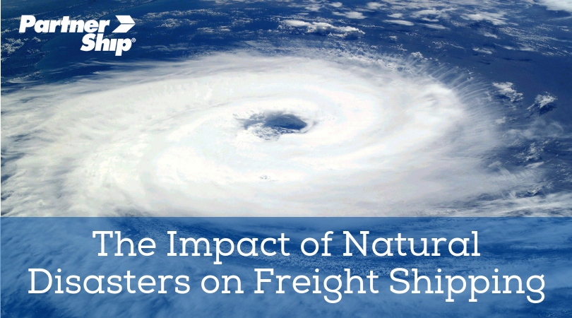 The Impact of Natural Disasters on Freight Shipping