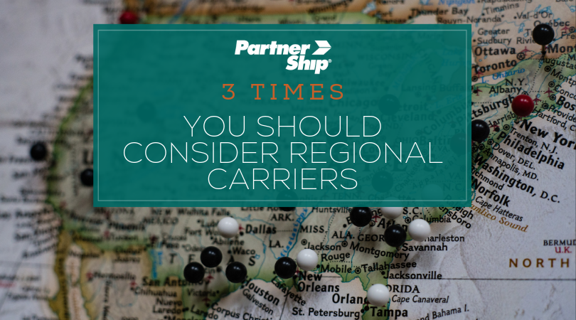 3 Times You Should Consider a Regional Carrier