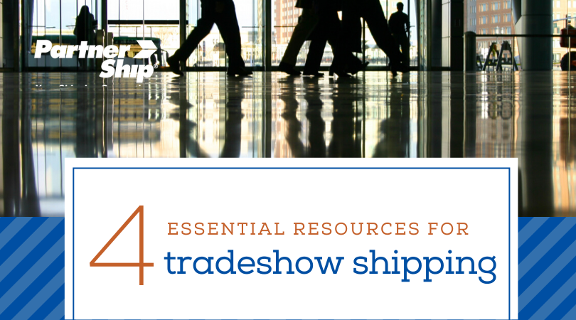 4 essential resources for tradeshow shipping
