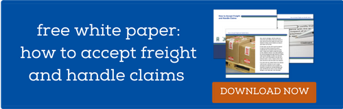 How to Accept Freight and Handle Claims