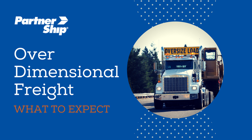Over dimensional freight: what to expect
