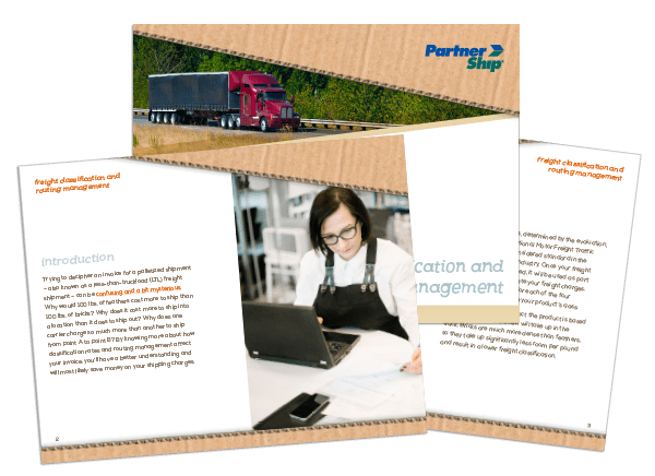 Freight Classification and Routing Management Whitepaper